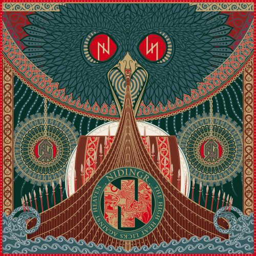 Nidingr - The High Heat Licks Against Heaven - Cover