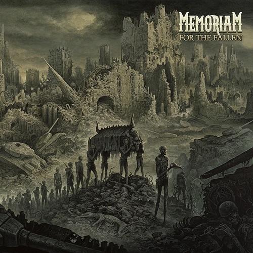 Memoriam - For The Fallen - Cover