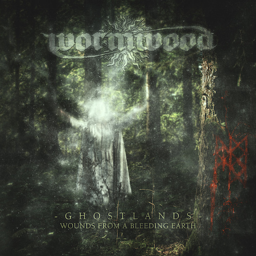 Wormwood - Ghostlands: Wounds From A Bleeding Earth - Cover