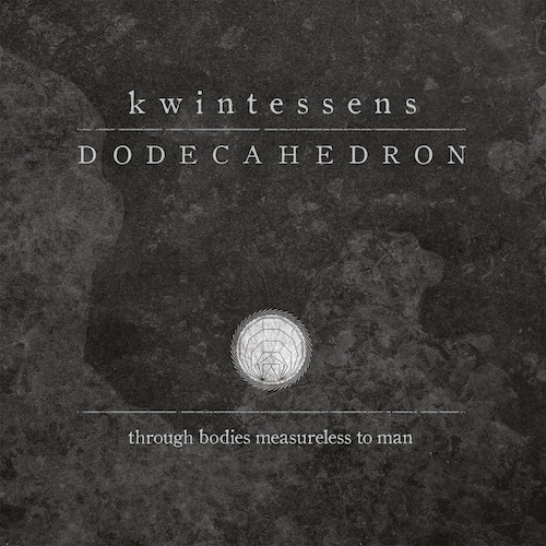 Dodecahedron - Kwintessens - Cover