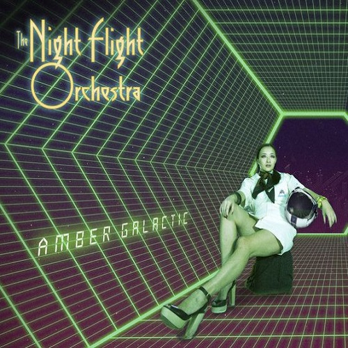 The Night Flight Orchestra - Amber Galactic - Cover