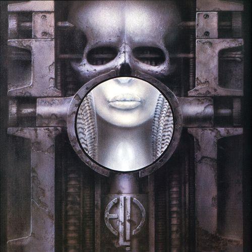 Emerson, Lake & Palmer - Brain Salad Surgery - Cover