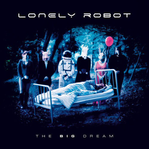 Lonely Robot - The Big Dream - Cover
