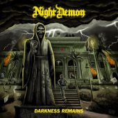 Night Demon - Darkness Remains - CD-Cover