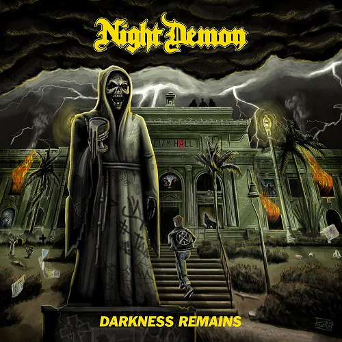 Night Demon - Darkness Remains - Cover