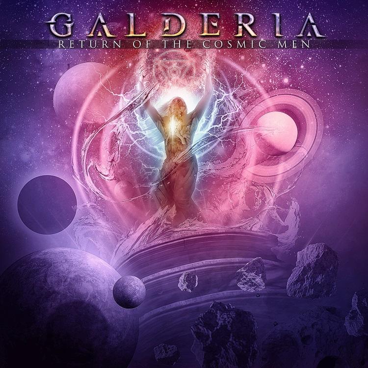 Galderia - Return Of The Cosmic Men - Cover