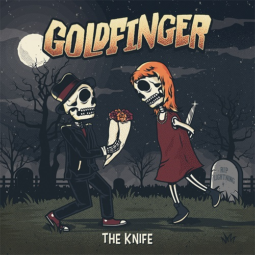 Goldfinger - The Knife - Cover