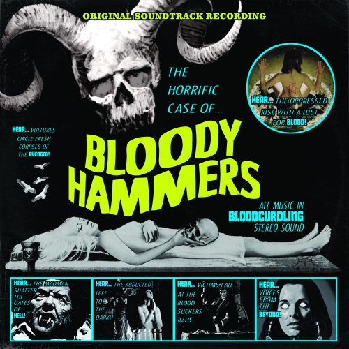 Bloody Hammers - The Horrific Case Of Bloody Hammers (EP) - Cover