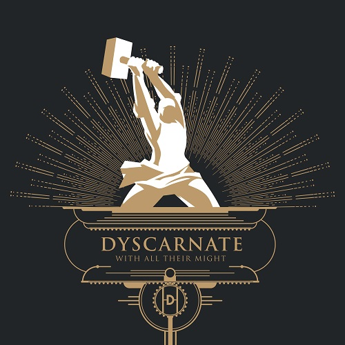 Dyscarnate - With All Their Might - Cover