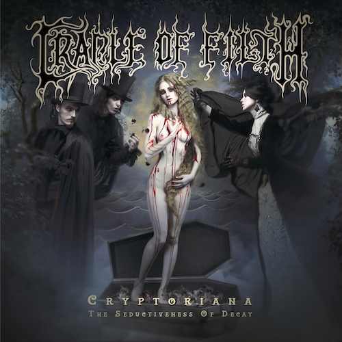 Cradle Of Filth - Cryptoriana - The Seductiveness Of Decay - Cover