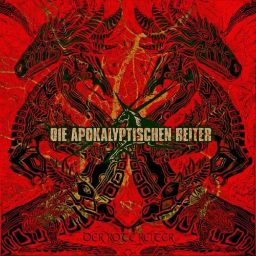 Die Apokalyptischen Reiter - Der rote Reiter - Cover