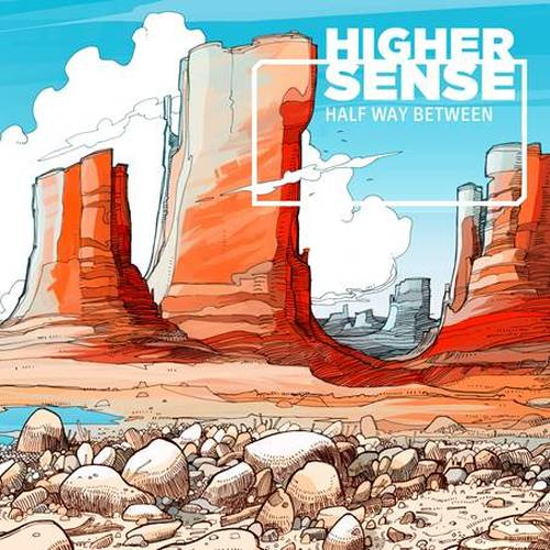 Highersense - Half Way Between - Cover