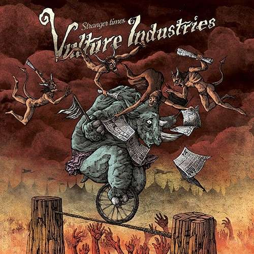 Vulture Industries - Stranger Times - Cover