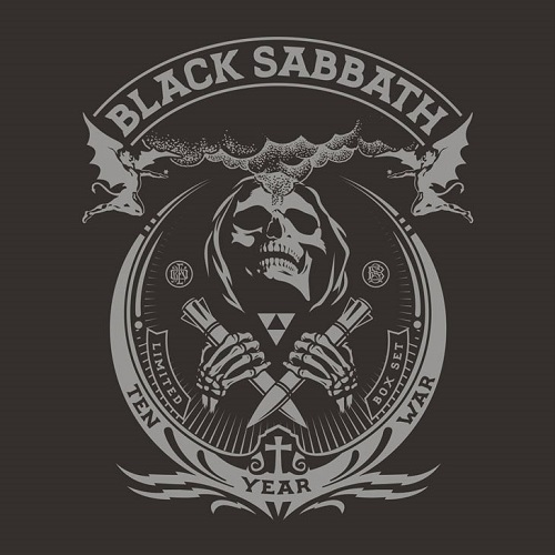Black  Sabbath - The Ten Year War - Cover