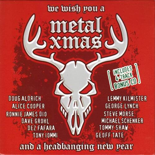 Various Artists - We Wish You A Metal Xmas And A Headbanging New Year - Cover