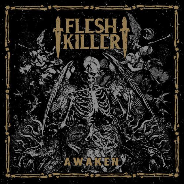 Fleshkiller - Awaken - Cover