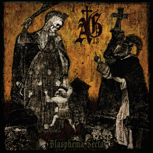 Abysmal Grief - Blasphema Secta - Cover