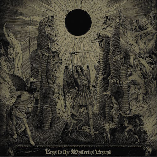 Grafvitnir - Keys To The Mysteries Beyond - Cover