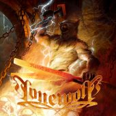 Lonewolf - Raised On Metal - CD-Cover