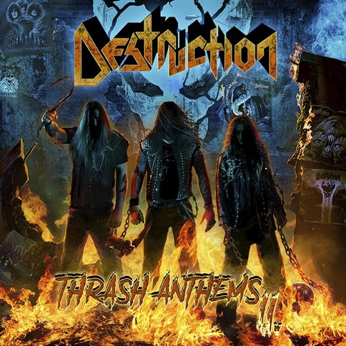 Destruction - Thrash Anthems II - Cover