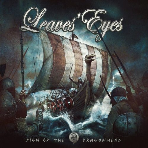 Leaves' Eyes - Sign Of The Dragonhead - Cover