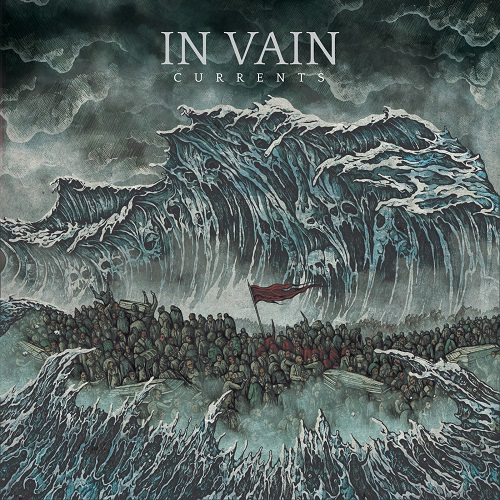 In Vain - Currents - Cover