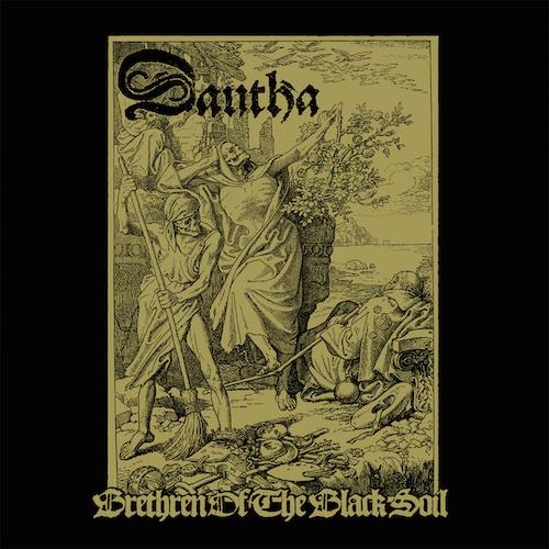Dautha - Brethren of The Black Soil - Cover