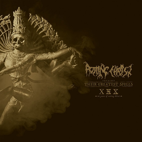 Rotting Christ - Their Greatest Spells: 30 Years Of Rotting Christ - Cover