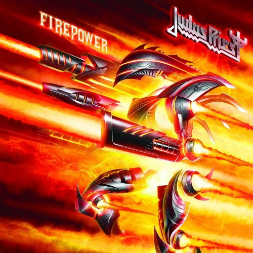 Judas Priest - Firepower - Cover