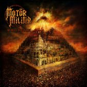 Motör Militia - World In Flames - CD-Cover