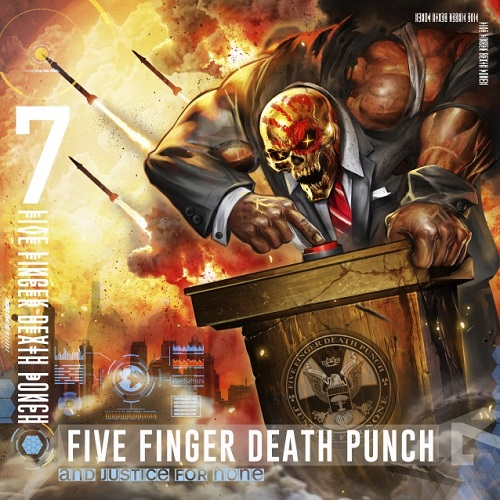 Five Finger Death Punch - And Justice For None - Cover