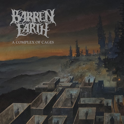Barren Earth - A Complex Of Cages - Cover