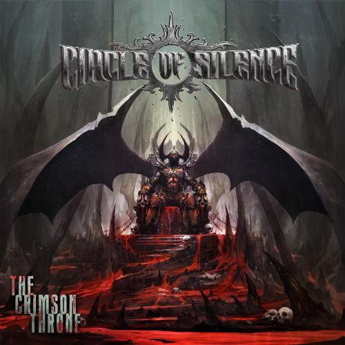 Circle Of Silence - The Crimson Throne - Cover