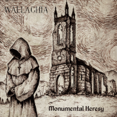 Wallachia - Monumental Heresy - CD-Cover