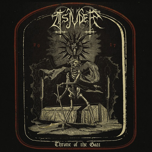 Tsjuder - Throne Of The Goat (EP) - Cover