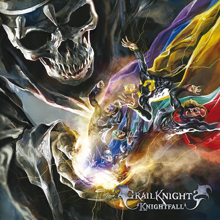 Grailknights - Knightfall - Cover