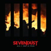 Sevendust - All I See Is War - CD-Cover
