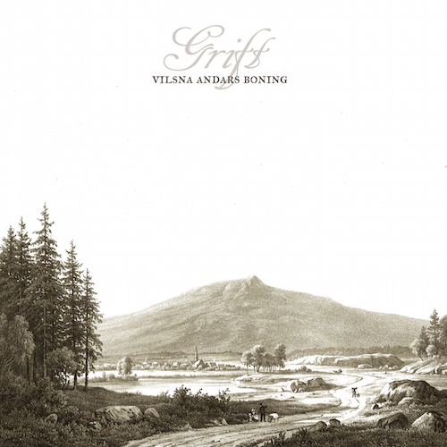 Grift - Vilsna Andars Boning (EP) - Cover