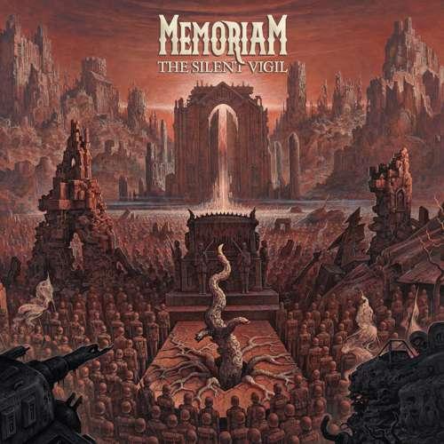 Memoriam - The Silent Vigil - Cover
