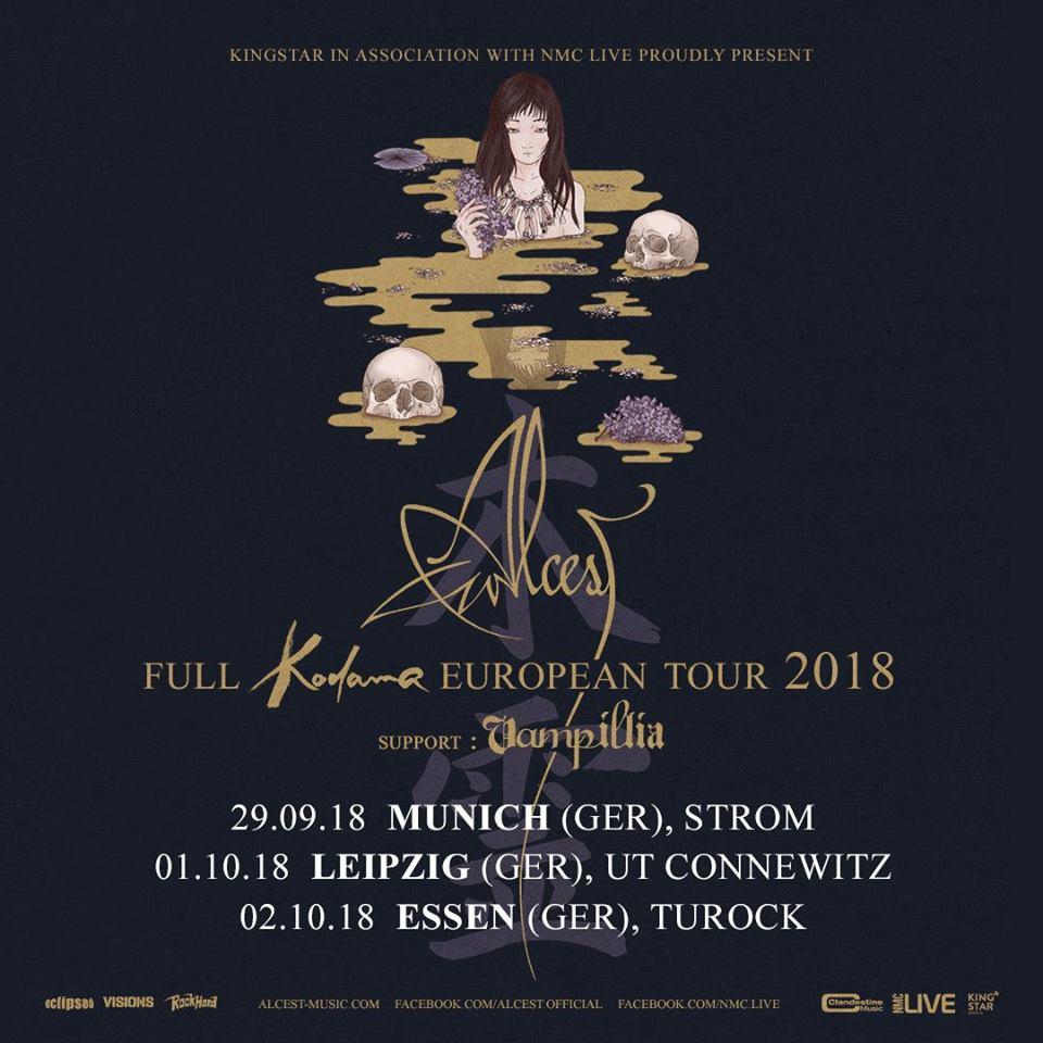 Alcest w/ Vampillia | Festival-Vorbericht | Metal1.info