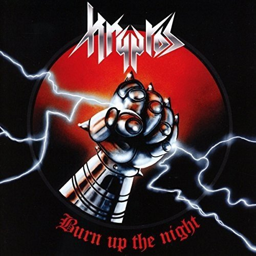 Kryptos - Burn Up The Night - Cover