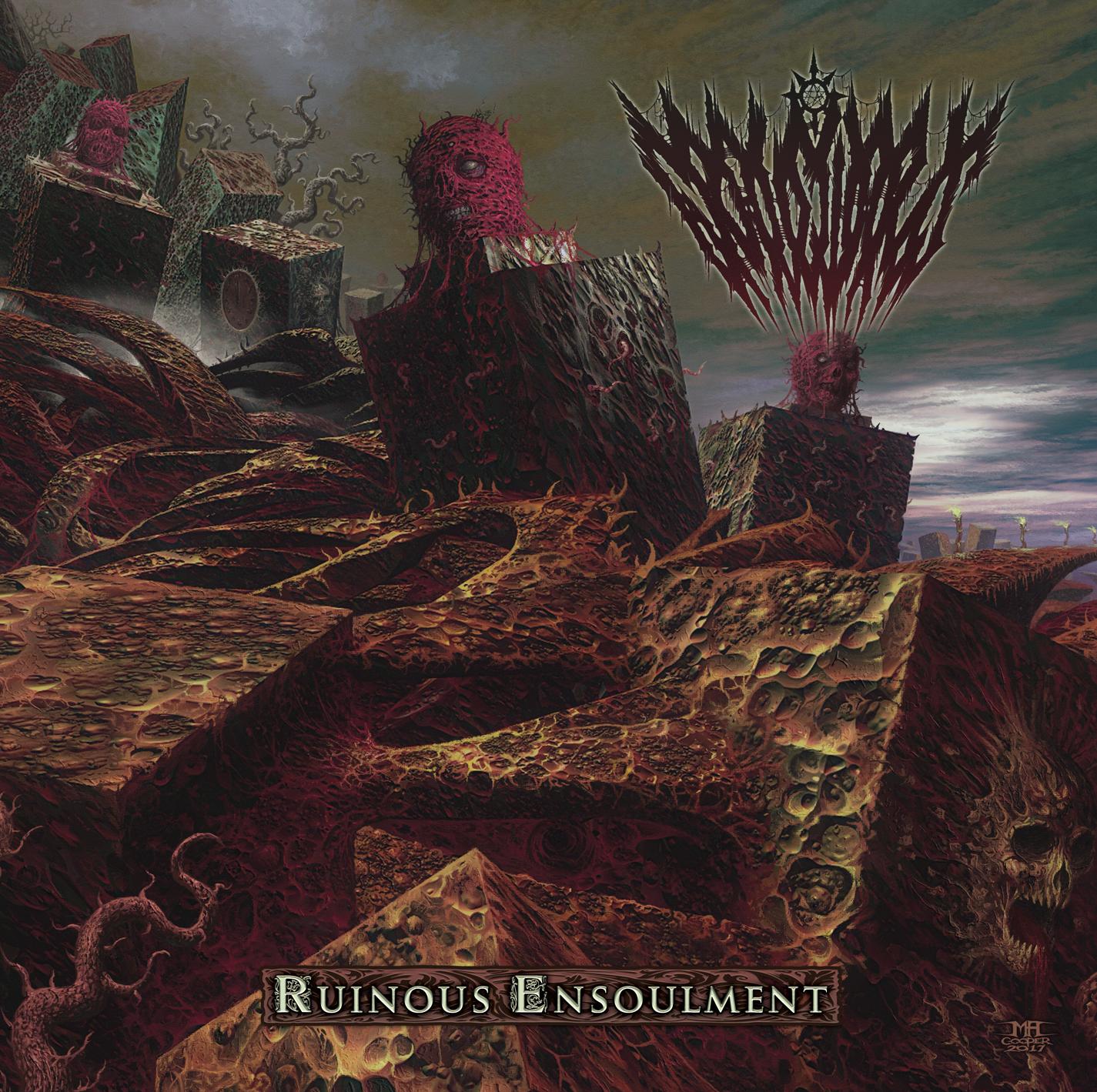 Gravewards - Ruinous Ensoulment - Cover