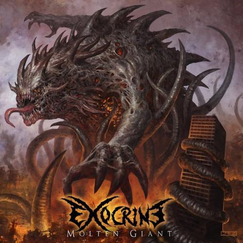 Exocrine - Molten Giant - Cover
