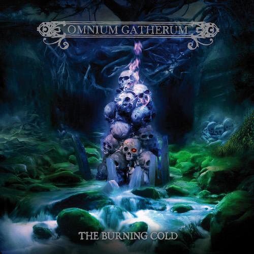 Omnium Gatherum - The Burning Cold - Cover