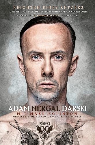 Adam Nergal Darski - Beichten eines Ketzers - Cover