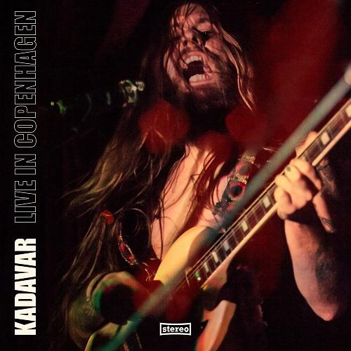 Kadavar - Live In Copenhagen - Cover