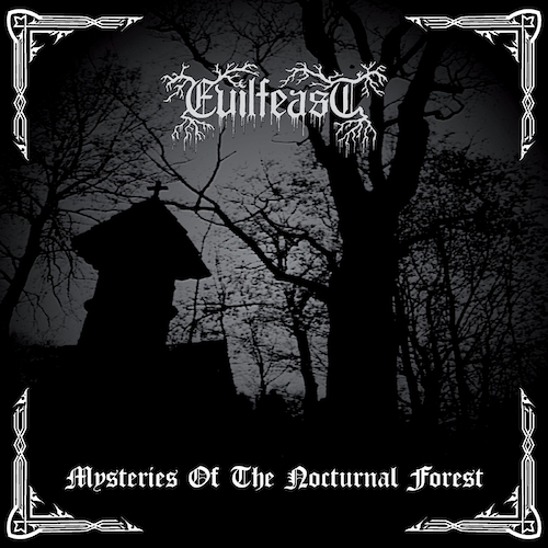 Evilfeast - Mysteries Of The Nocturnal Forest (Re-Release) - Cover