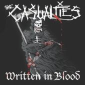 The Casualties - Written In Blood - CD-Cover