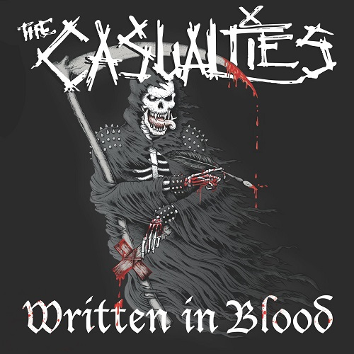The Casualties - Written In Blood - Cover