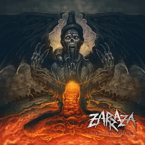 Zarraza - Necroshiva - Cover